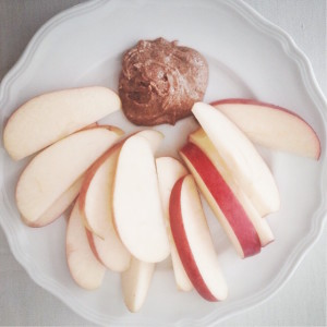 Apple Slices and Almond Butter