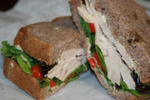 low fodmap sandwich