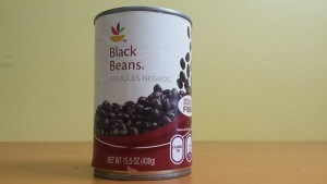 These beans aren't low sodium, so I would rinse them
