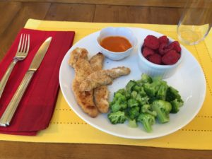 Enjoy a meal balanced with proteins, carbohydrates and fat to leave you feeling full and focused.