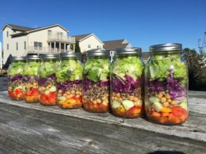 Low FODMAP Mason Jar Salad