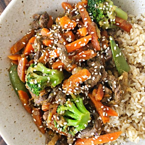 beef stir fry one pan
