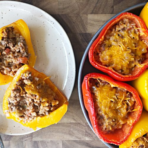 Low FODMAP Stuffed Peppers
