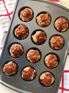 Meatloaf Muffin Tins