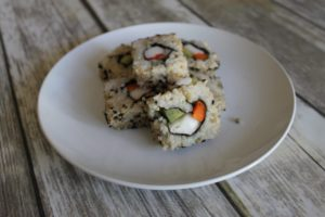 low fodmap sushi