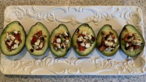 diabetes friendly avocado appetizer