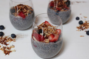 cooking with chia seeds