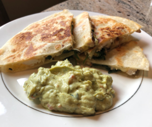 Cilantro Lime Chicken Quesadillas