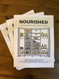 nourished: 10 ingredients to happy, healthy eating book