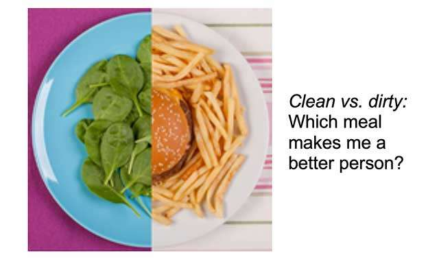dirty truth about clean eating